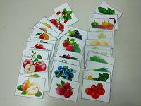 Отдается в дар карточки овощи-фрукты-ягоды