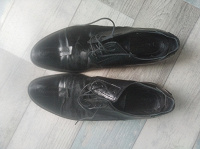 Отдается в дар Мужские туфли, кожа пони+кожа, 44-45