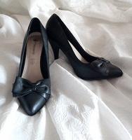 Отдается в дар Кожаные классические туфли, 39