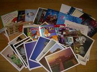 Отдается в дар открытки разные