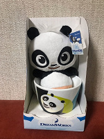 Отдается в дар Кружка с игрушкой панда