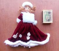 Отдается в дар Кукла новогодняя