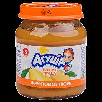 Отдается в дар фруктовое пюре Агуша