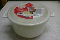 Отдается в дар Кастрюля для СВЧ и холодильника