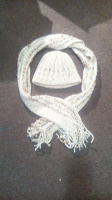 Отдается в дар Комплект — шапка с шарфиком