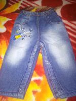 Отдается в дар Теплые детские джинсы