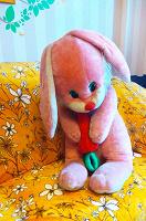 Отдается в дар Мягкие игрушки — зайка и собачка