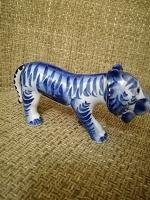 Отдается в дар Гжель. Тигр