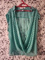 Отдается в дар блузка-накидка в полоску
