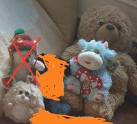 Отдается в дар Плюши или мягкие игрушки