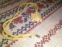Отдается в дар Украшение из натуральной кости, слоник