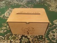 Отдается в дар Свадебная коробка для денег
