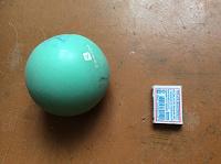 Отдается в дар Резиновый мяч