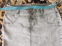 Отдается в дар Джинсовые юбочка и шорты