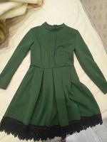 Отдается в дар Платье зелёное
