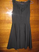 Отдается в дар Чёрное платье S