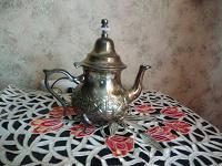 Отдается в дар Медный заварочный чайник. Марокко