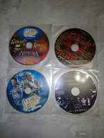 Отдается в дар коллекционные диски от братьев Запашных (музыка и ролики)