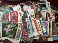 Отдается в дар Советские открытки и конверты
