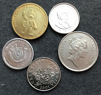 Отдается в дар Несколько монет