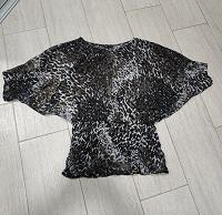 Отдается в дар Леопардовая блуза