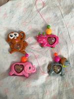 Отдается в дар 4 игрушки-погремушки для мобиля