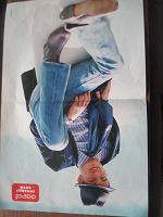 Отдается в дар постер из журнала «оопс»