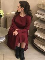 Отдается в дар Платье бордо mint&berry