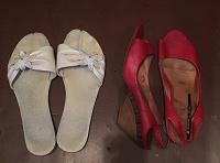 Отдается в дар Женская обувь, размер 41