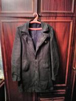 Отдается в дар Джинсовый плащ — пиджак 48