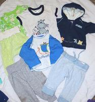 Отдается в дар Набол детской одежды 0-3мес