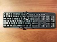 Отдается в дар Клавиатура. Проводная (USB).