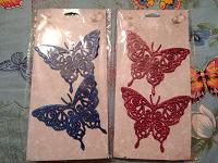 Отдается в дар Новогоднее украшение «Бабочки»…