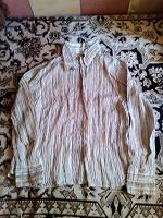 Отдается в дар Женская блузка — рубашка, размер 48