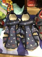 Отдается в дар Детская обувь б/у сандалии 25 ,27размер