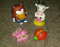 Отдается в дар игрушки резиновые №2