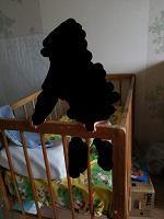 Отдается в дар Детская кроватка СССР с матрасом