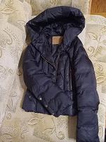 Отдается в дар короткая куртка с большим капюшоном