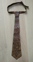 Отдается в дар Кожаный галстук