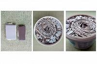 Отдается в дар Плитка-мозаика строительная (на сетке и без) и сухой клей для неё