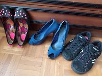 Отдается в дар Обувь для девушки р.36