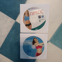 Отдается в дар DVD диски с фитнесом