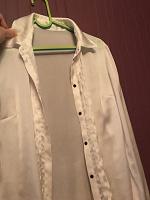 Отдается в дар Белая блузка 42-44