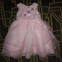 Отдается в дар Нарядное платье для маленькой принцессы.