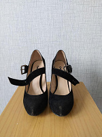 Отдается в дар Чёрные туфли
