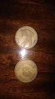 Отдается в дар Монета Египет 50 пиастр с Клеопатрой