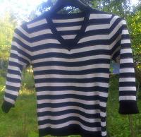 Отдается в дар Полосатый пуловер S