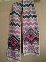 Отдается в дар Вязаный шарф