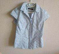 Отдается в дар Рубашка голубая женская Reserved размер M 38