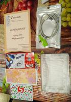 Отдается в дар Для коллекции паспорта от киндеров, пластиковая карта, магнитная зарядка